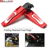Motorcycle Folding Foot Pegs Foot Rests Footrests FOR yamaha MT 01 MT 07 MT 09 Tmax500 TMAX530 YZF R3 YZF R25 R300 R250 R1 R6