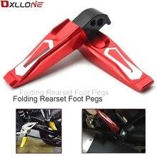 Motosiklet katlanır ayak Pegs ayak dayanağı Footrests yamaha MT 01 MT 07 MT 09 Tmax500 TMAX530 YZF R3 YZF R25 R300 R250 R1 R6