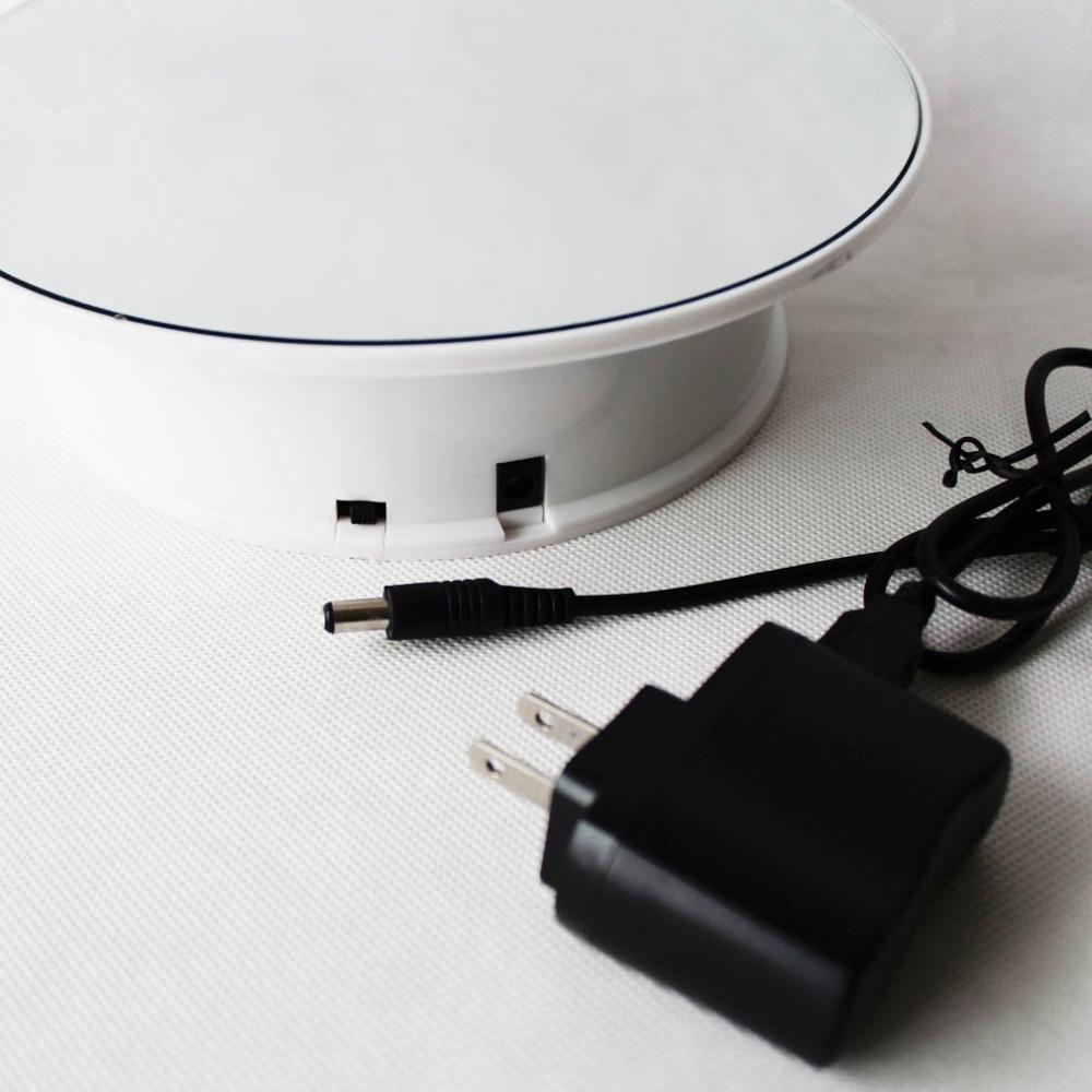 8 дюймовая зеркальная верхняя батарея/адаптер питания вращающаяся