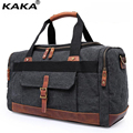 KAKA Fashionable Canvas Handle Travel Bag Multi-function Men Single Shoulder Bag Large Capacity Recreation Crossbody Bag B299