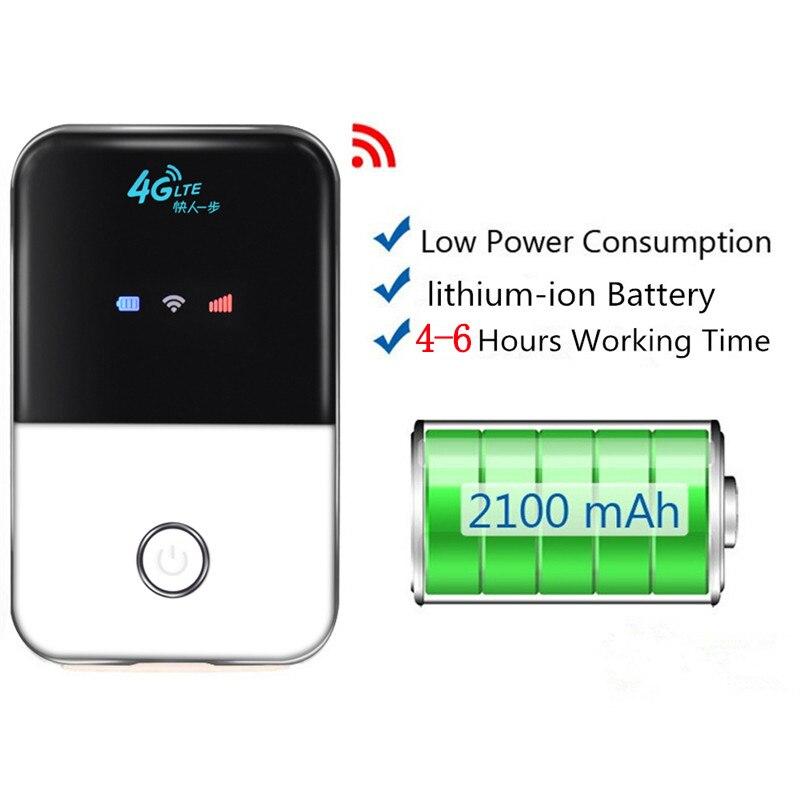 4G Mifi amplificateur de signal Wifi Hotspot Wifi voiture en plein air Mobile Wi-fi Pont 3G 4G Routeur pour Vodafone Zte Xiaomi Huawei téléphone