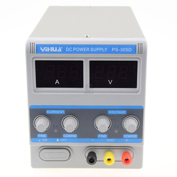 A/MA conversion 305D laboratory power supply LED display 0-30V DC Output all new digital kxn 305d high power switching dc power supply 0 30v voltage output 0 5a current output