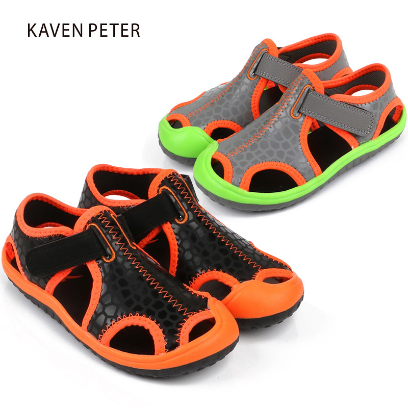 Summer sandals for girls sports shoes for boys kids beach shoes children casual shoes sandals cut outs closed toe flat sandals boys girls antislip usb sandals summer cut out comfortable flats beach sandals kids children breathable led shoes with light