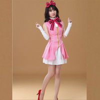 Fashion Head sexy Maid Dress Halloween Costume Darque Maid Sexy Costume Sexy PVC Vinyl French Maid Outfit