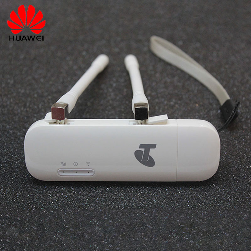 Desbloqueado Huawei E8372 (con par de antena) USB LTE Wingle LTE Universal 4G USB módem WiFi coche Wifi E8372h-608