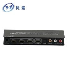 3 Porta HDMI 5.1 switch hdmi audio extractor Extrator De Áudio 1.4 v 4 K ARCO PARA SPDIF/Coaxial
