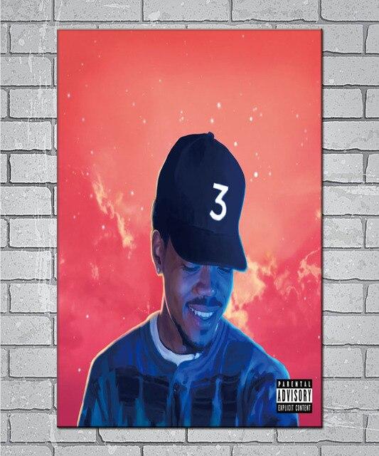 N1057 Chance The Rapper Coloring Book Acid Rap Light Canvas Custom Poster Wall Decor 20X30 27x40