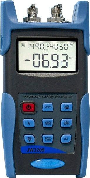 JW-3209C Fiber Optical Multi Meter (Light Source & Power Meter in 1 Device), Optical Insertion Loss Tester -50~26dBJW-3209C Fiber Optical Multi Meter (Light Source & Power Meter in 1 Device), Optical Insertion Loss Tester -50~26dB