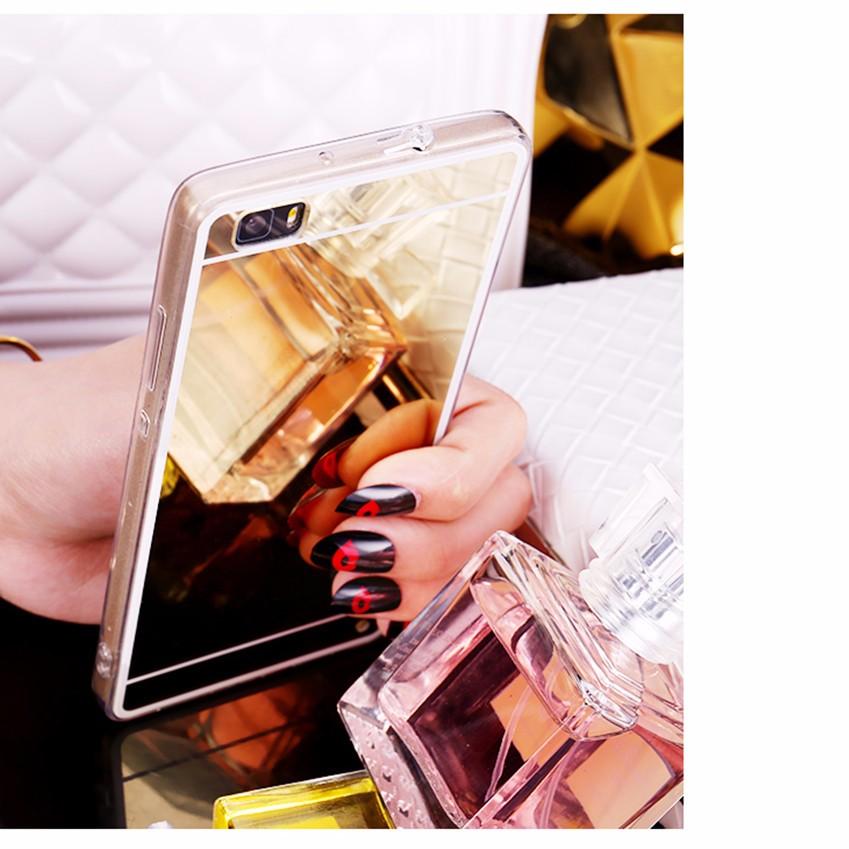 Hot! luksus lustro galwanizacja miękkie przezroczysty tpu case pokrywa dla huawei p8/p8 lite p9 p9 plus p9 lite g9 8
