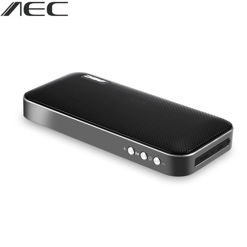 Portable Two-channel  Stereo Bass Bluetooth Speaker AEC BT-205 With 2300mAh Lithium-ion Battery Support For Charge Smartphone
