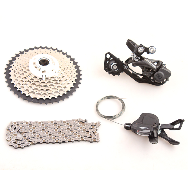 SHIMANO DEORE M6000 1x10 10S Speed 11-42T Groupset Contains Shifter Lever & Rear Dearilleur & Cassette & Chain shimano br bl deore m6000 hydraulic disc brake lever