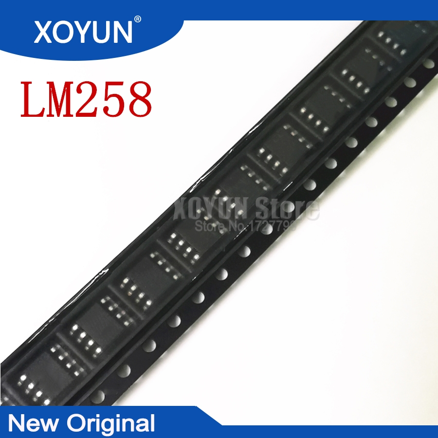 10pcs 100% New LM258 LM258DR LM258DT SOP8 SOP-8 SMD