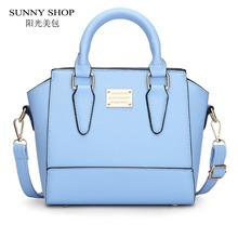 SUNNY SHOP Cute Women Messenger Bags Small High Quality PU leather Shoulder