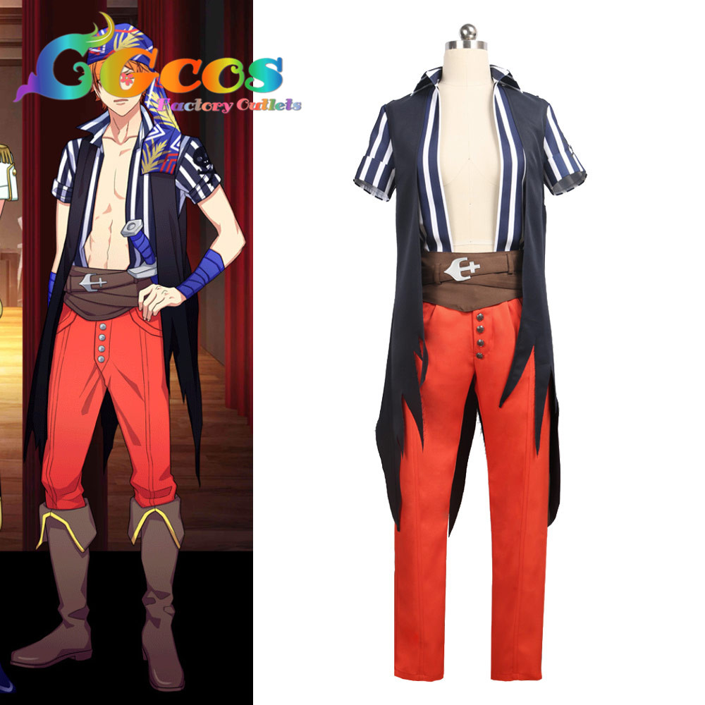 CGCOS Coplay Clothes Role Play Uniform Cosplay Costume A3! A3 Tenma Sumeragi Costume Anime Dress Suits Custom