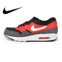 Официальный Оригинальная продукция Nike AIR MAX 1 ESSENTIAL для мужчин's кроссовки спортивная обувь Nike обувь мужчин дышащая амортизацию удобные 537383