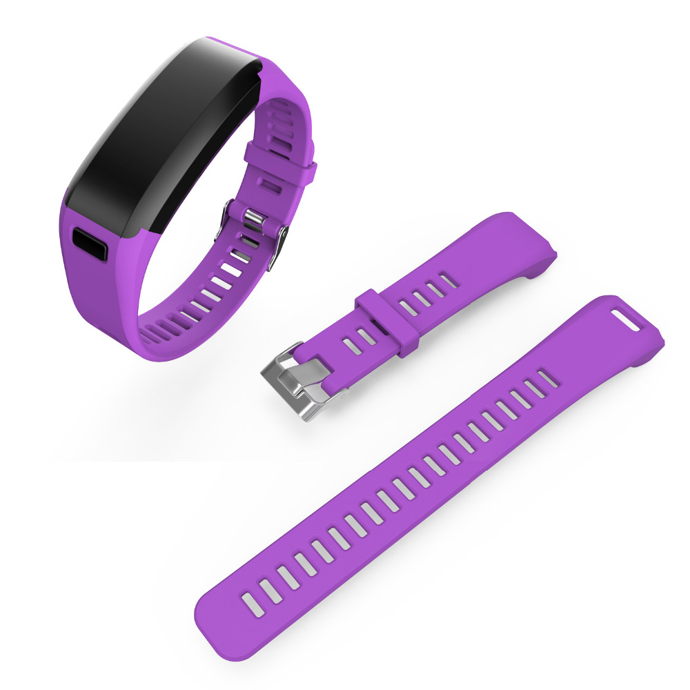 Fashion Sports Silicone Watchbands for garmin Strap Bracelet Replacement Wristband Smart Accessory for garmin VIVO Smart HR Band 12