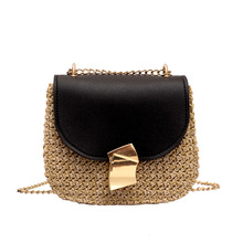 купить sac paille pochette bandouli re femme straw bag korean style bolsa de plage luxury handbags women bags designer schoudertas дешево