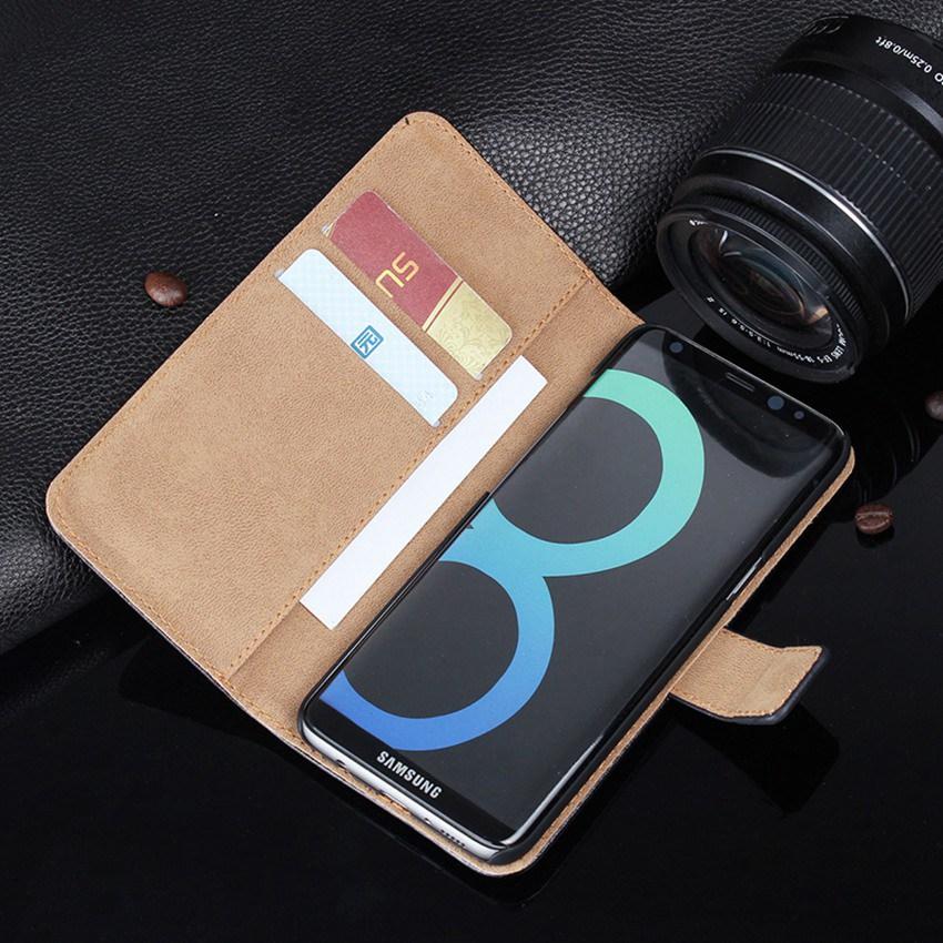 Originální kožené pouzdro na peněženku se stojánkem s - Příslušenství a náhradní díly pro mobilní telefony