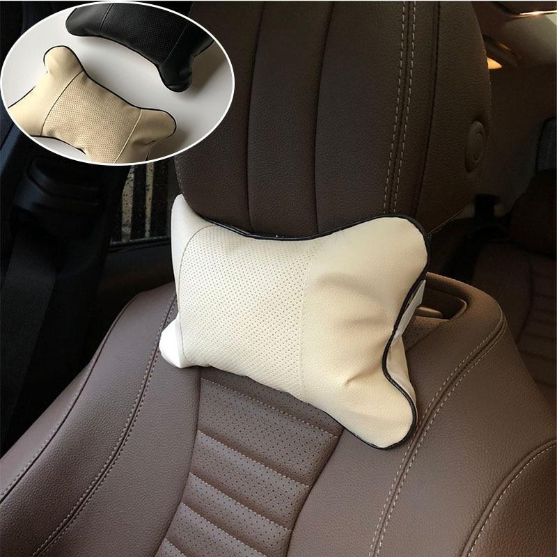 Vermetel 2 Stuks Auto Nekkussen Perforeren Ontwerp Case Voor Chevrolet Spark Volt Epica Malibu Camaro Kobalt Orlando Zeil