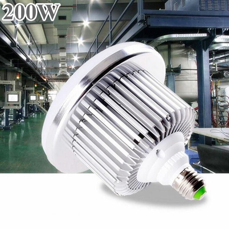 Champignon lumière LED haute baie LED ampoule e27 e40 AC220V 230 V 240 V 100 W 150 W 200 W e40 LED ampoule remplacer 700 w 1000 w halogénures métalliques