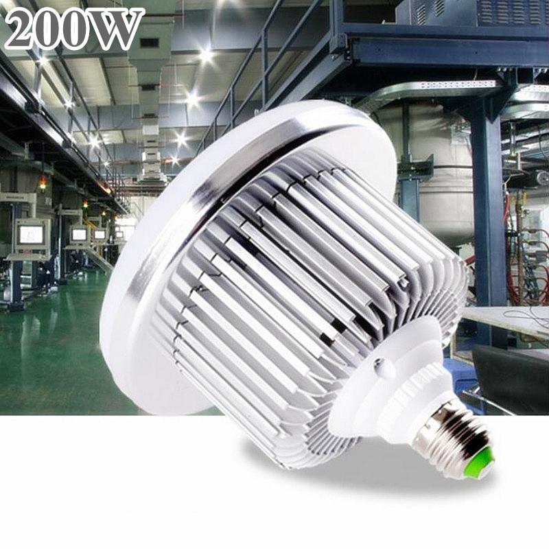 Mushroom LED high bay light led bulb e27 e40 AC220V 230V 240V 100W 150W 200W e40 led bulb replace 700w 1000w metal halide