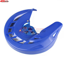 22mm Front Brake Disc Rotor Guard Cover Protector Protection For YZF250/450 14-18 YZ250FX 15-18 YZ450FX MX Motocross Motorcycle