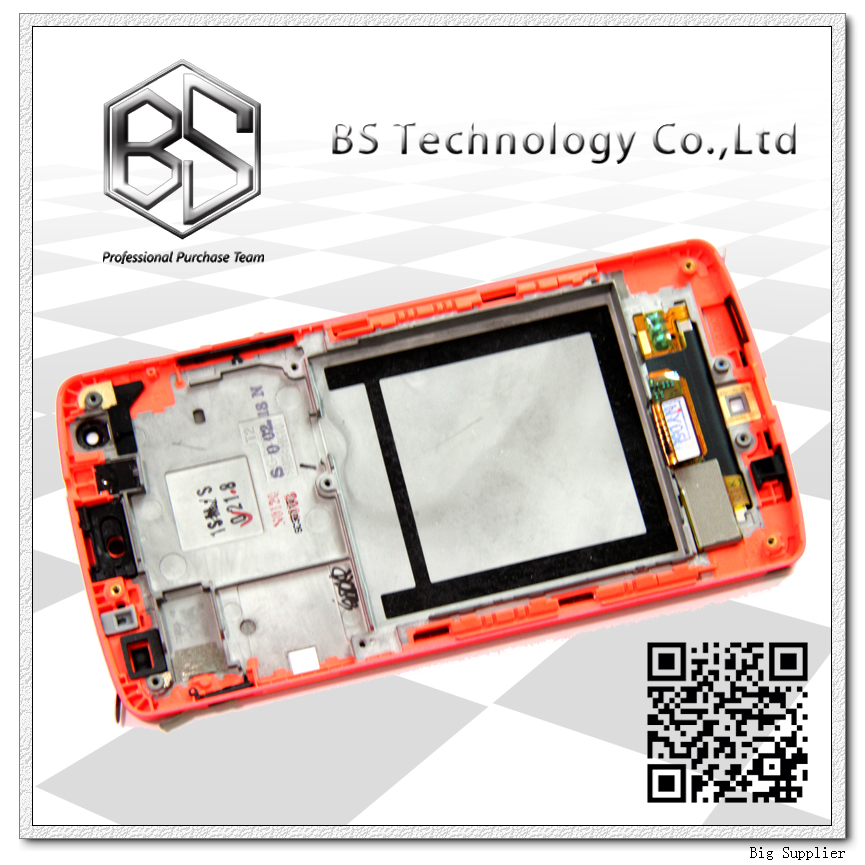 Original Display Screen LCD Digitizer with Frame Complete Assembly For LG Google Nexus 5 D820 D821 LCD Orange new original for lg google nexus 5 d820 d821 lcd display panel with touch screen digitizer full frame assembly 100