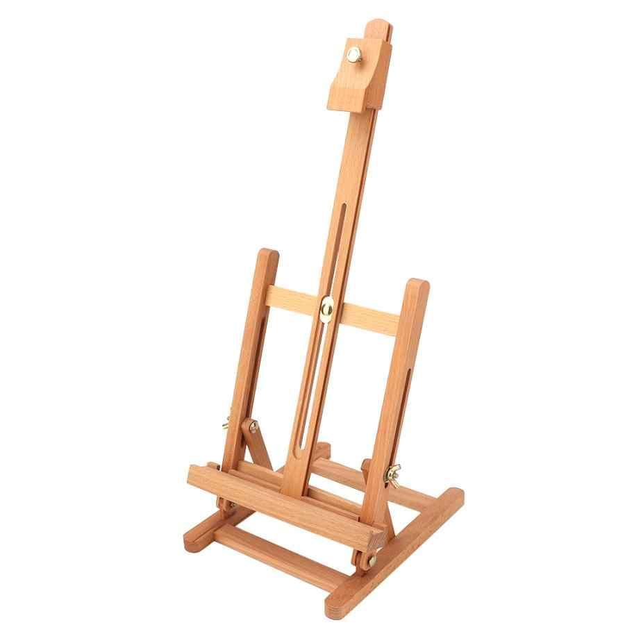подставка для рисования маленькая деревянная регулируемая настольная стойка с H рамкой мольберт студийный стенд для художника доска для рисования