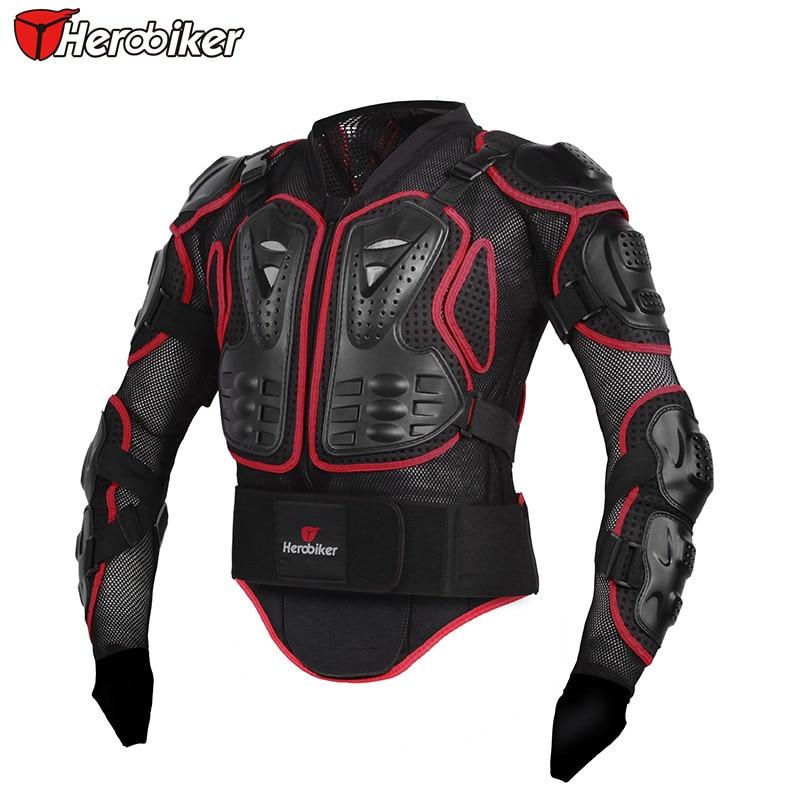 Hommes complet corps moto armure moto veste Motocross course équipement de Protection moto Protection - 3