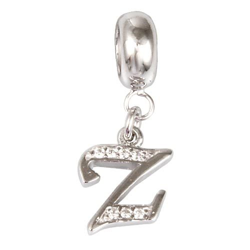 Pandora Alphabet Charm Z Silver