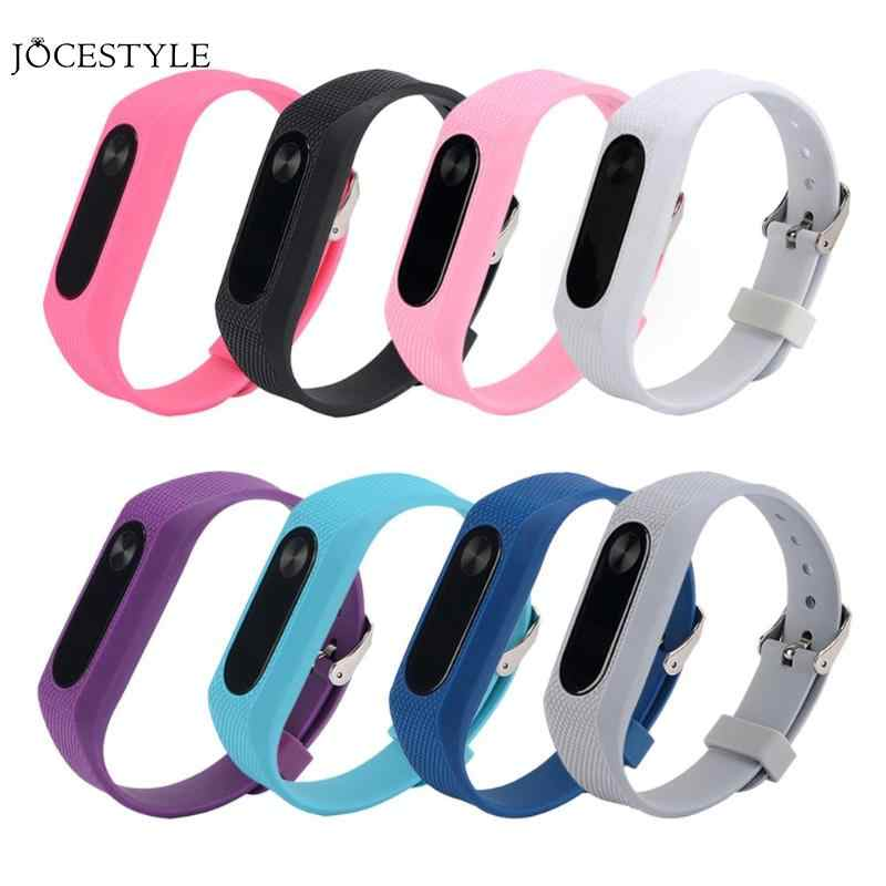 Silicone Bracelet for Miband 2 Sport Strap Watch Silicone Wrist Strap Replacement Smart Band Accessories For Xiaomi Mi Band 2