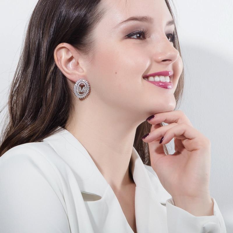 Letter Earrings Jewelry Set17