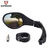 Bicycle Rear Mirror MTB Bike Rearview Mirror Bike Handlebar Back Blind Mirrors 360 Rotation Safety Cycling Bike Accessories