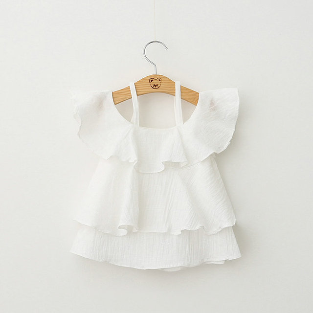2016 Fashion beautiful baby dress lace dress summer dress promotion new style dress for baby girl