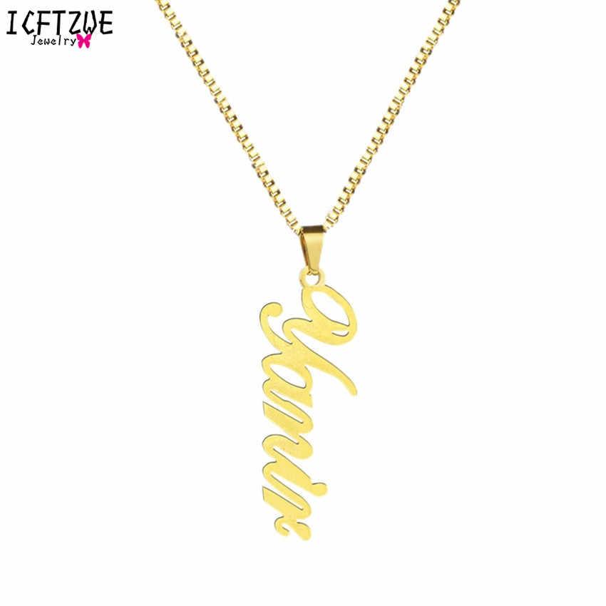 80c9d3b99c57 Joyería personalizada firma colgante de oro Ketting Hip Hop Cadena ...