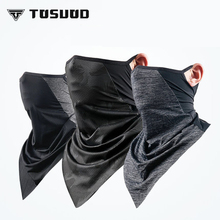 TOSUOD 2019 new ice silk scarf summer sunscreen collar men and women outdoor sports riding mask thin magic face towel