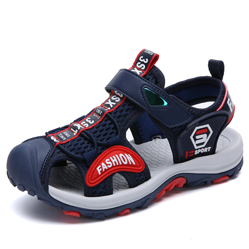 Girls Sandals Shoe Clogs Flat-Slippers Boys Casual Children Infantil Outdoor Breathable