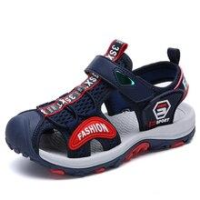 a65e146711276 Chaussures d été enfants respirant enfants sandales plage filles garçons  sandales en plein air sabots plats pantoufles chaussure.