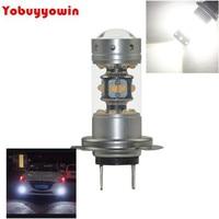 Xenon White Error Free 140W H7 High Beam LED Daytime Running Light Kit For BMW E82