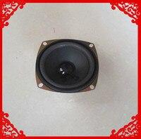 2pcs Pack 3 Inch 8 Ohm 5W Square Speaker Foam Edge Cone Louderspeaker Light Magic Good
