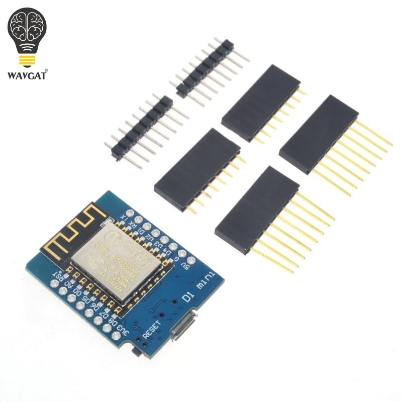 5sets D1 mini - Mini NodeMcu 4M bytes Lua WIFI Internet of Things development board based ESP8266 by WAVGAT5sets D1 mini - Mini NodeMcu 4M bytes Lua WIFI Internet of Things development board based ESP8266 by WAVGAT