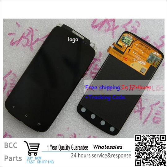 все цены на  Good quality LCD display +Touch Screen digitizer For HTC One S Z520e Z560e Test ok free shipping&In stock!  онлайн