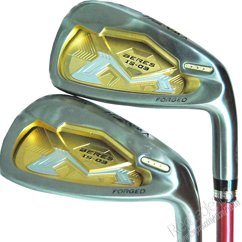 Cooyute New womens Golf Clubs HONMA S-03 Golf irons clubs set 5-11.Aw.Sw with Graphite Golf shaft clubs Free shipping