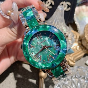 Image 5 - Dimini Vrouwen Horloges Nieuwe Luxe Dames Horloge Vrouwen Rhinestone Quartz Horloge Rvs Crystal Horloge Klok Reloj Mujer