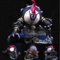 Одна деталь семь Warlords of the Sea Gekko Moria супер размеры беглый состояние ПВХ фигурку Коллекционная модель игрушки в коробке 46 см