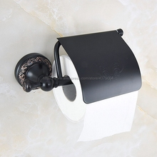цена на Bathroom Washroom Toilet Paper Holder Roll Tissue Holders Paper Box Bathroom Accessories Oil Rubbed Bronze Nba458