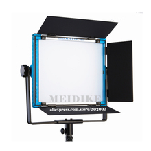 Yidoblo A-1200c RGB LCD Display LED Lamp Soft light multi color led panel light For Film Video Lamp APP Remote control set yidoblo indoor video film shooting light a 1200c pro rgb led light multi color for led panel light broadcast lamp app control