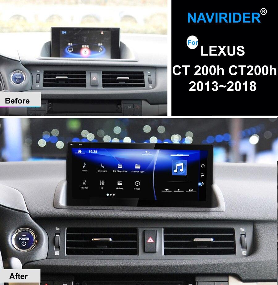 NAVIRIDER Android 7,1 coche multimedia 10,25