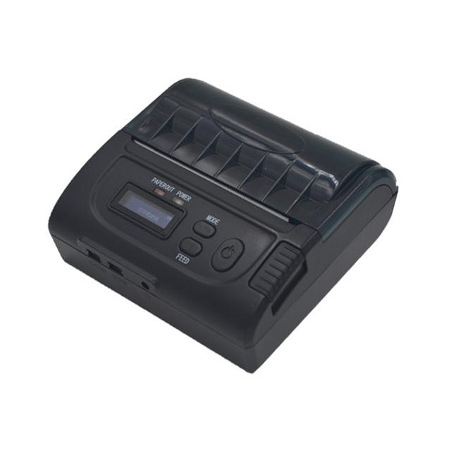 Mini bolsillo de la impresora térmica 80mm de mano android y IOS bluetooth impresora de recibos usb cable puede cargar la batería máquina de calidad