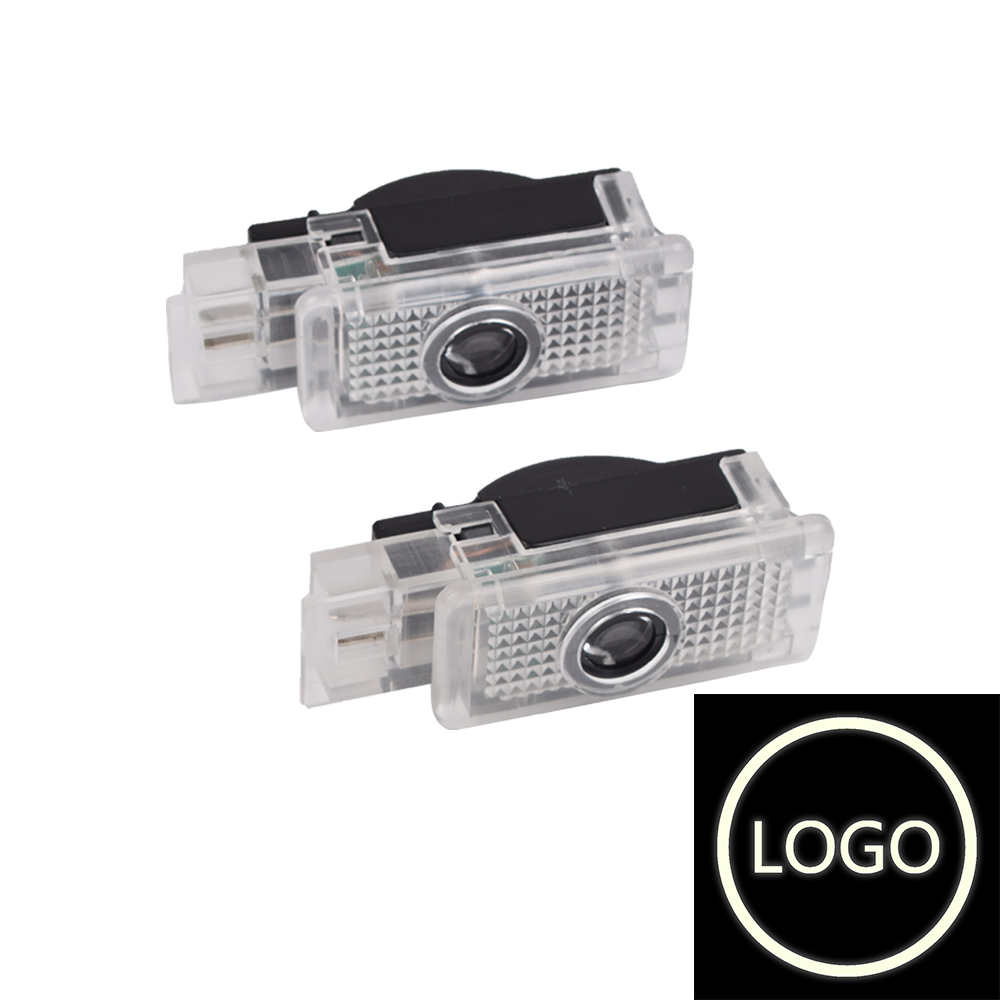 2X Car Door Warning Light Logo Projector LED For Mercedes <font><b>Benz</b></font> C CLK <font><b>SLK</b></font> SLR Class W203 W209 R171 <font><b>R172</b></font> C199 image